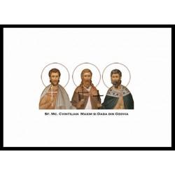 Sfintii Mc. Cvintilian, Maxim și Dada din Ozovia