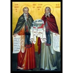 Sfintii Cuvioşi Simeon şi Amfilohie de la Pângăraţi