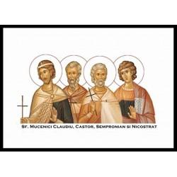 Sfintii Mucenici Claudiu, Castor, Sempronian şi Nicostrat