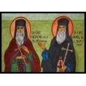 Sfinții Cuvioși Rafail și Partenie de la Agapia