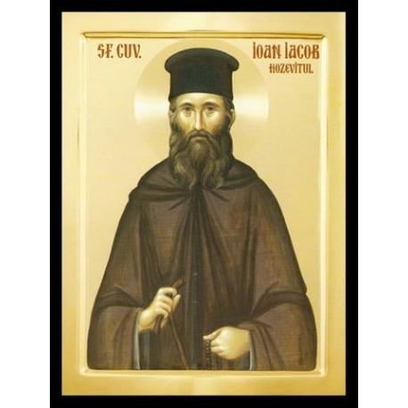 Sfântul Cuvios Ioan Iacob de la Neamț, Hozevitul