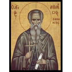 Sfântul Cuvios Atanasie Athonitul