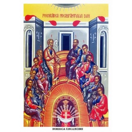 Icoana din Duminica Pogorarii Sfantului Duh - Rusalii