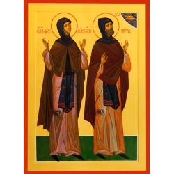 Icoana Sfintilor Petru si Fevronia din Murom